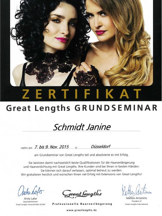 Haarverlängerungen im Raum Leverkusen, Köln und Düsseldorf Janine Schmidt HAIR DESIGN