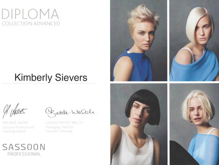 Collection Advanced Sassoon Kimberly Sievers - Janine Schmidt HAIR DESIGN