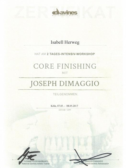 Fortbildung Haarverlängerung Leverkusen bei Joseph Dimaggio