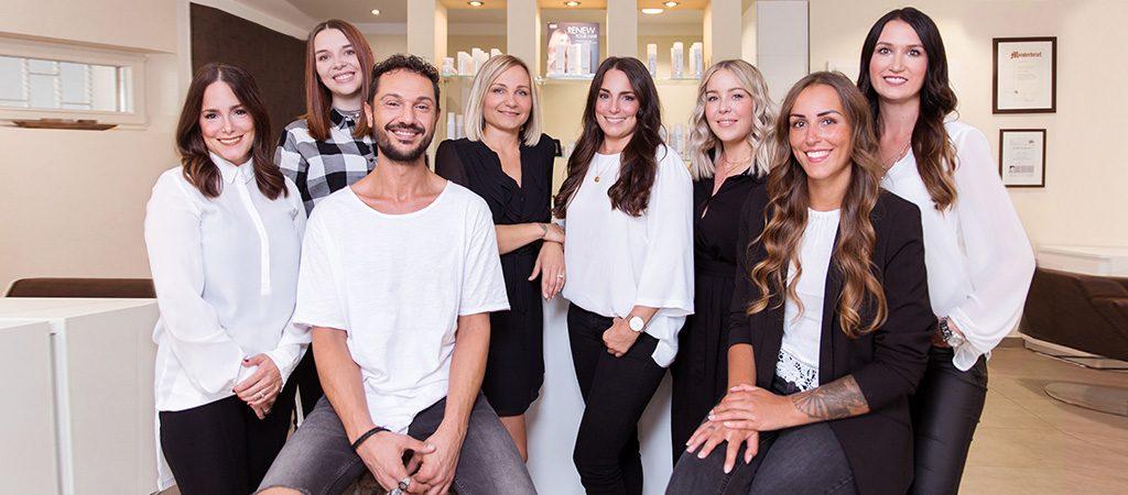 Janine Schmidt HAIR Design Leverkusen Friseur Team
