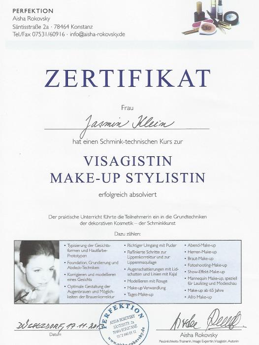 Visagistin Leverkusen Jasmin Makulik