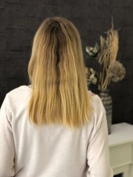 Haarverdichtung Solingen vorher
