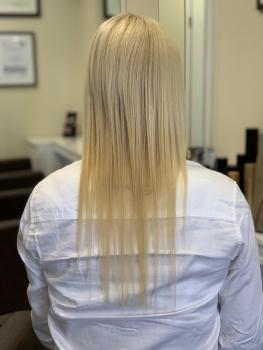 Haarverlängerung Burscheid vorher