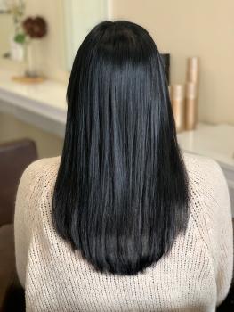 Haarverlängerung Hilden nachher