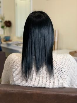 Haarverlängerung Hilden vorher