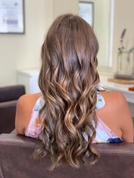 Haarverlängerung Leichlingen nachher