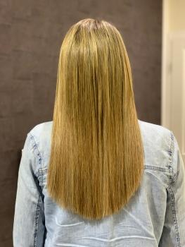 Haarverlängerung Monheim nachher