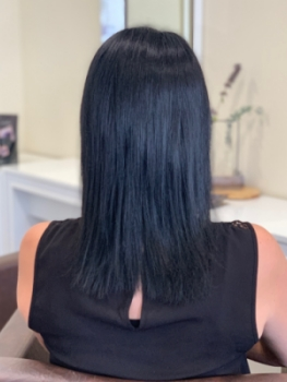 Haarverlängerungen Odenthal vorher