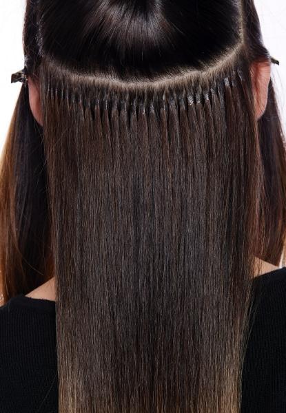 Haarverlaengerung Bondings